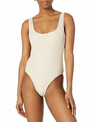 Rip Curl Women's Joyride Mesh One Piece Swimsuit with Fringe On Back