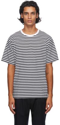 Nanamica Black and White COOLMAX T-Shirt