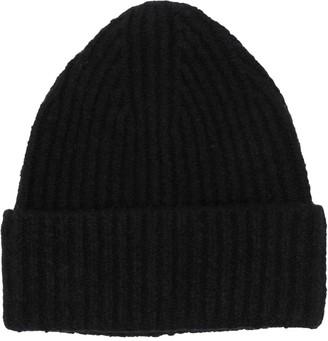 Acne Studios Rib-Knit Beanie Hat