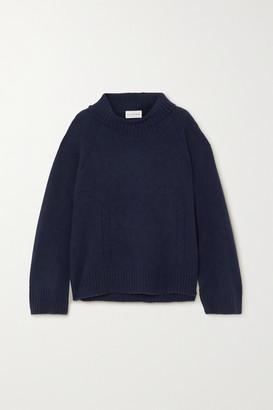 By Malene Birger Aleya Oversized Alpaca-blend Turtleneck Sweater - Navy