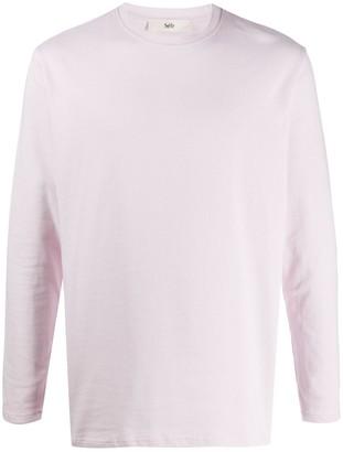 Séfr Long-Sleeved Crew-Neck Sweatshirt