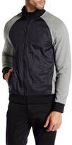 Kenneth Cole New York Colorblock Zip Jacket