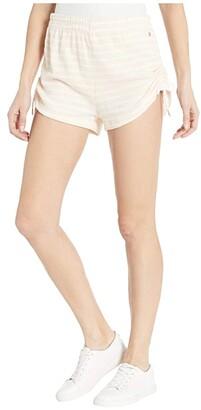 Volcom Lil Fleece Shorts (Light Peach) Women's Shorts
