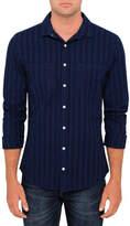 R & E RE: Overdye Striped Shirt