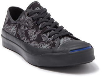Converse x Jack Purcell Signature Monstera Tropical Oxford Sneaker (Unisex)