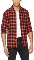 New Look Men's Eagle Check Casual Shirt