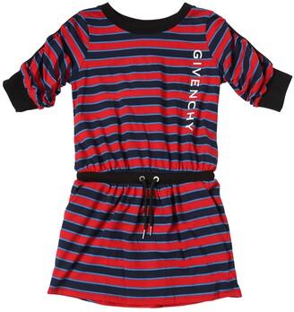Givenchy Striped Cotton Jersey Dress