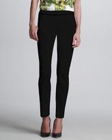 Jason Wu Stovepipe Flat-Front Pants