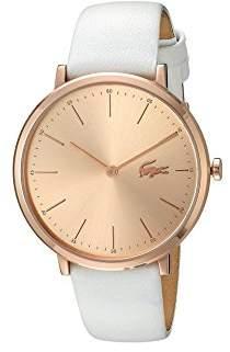 Lacoste Women's Quartz Watch with Leather Calfskin Strap