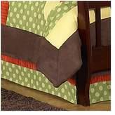 JoJo Designs Sweet Forest Friends Toddler Bed Skirt