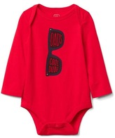 Gap Family graphic long sleeve bodysuit