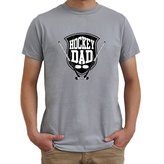 Eddany Hockey Dad worn style T-Shirt