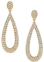 Nadri Pave Teardrop Earrings