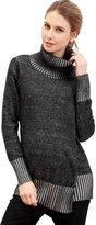 Sweet Mommy Organic Cotton Tutleneck Knit Tunic Top