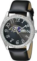 Game Time Women's NFL-GLI-BAL Glitz Classic Analog Baltimore Ravens Watch