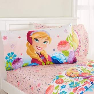 Disney Frozen Floral Breeze Pink Sheet Set