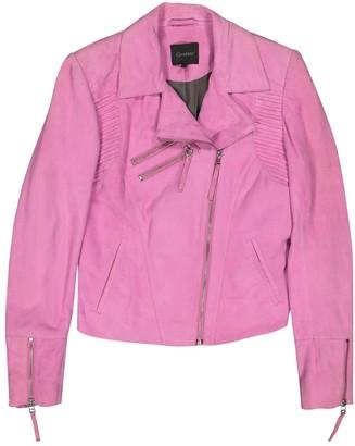 Gestuz Pink Suede Leather jackets