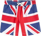 Hackett Printed swim shorts