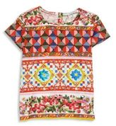 Dolce & Gabbana Toddler's, Little Girl's & Girl's Printed Top