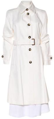 Burberry White Denim - Jeans Trench Coat for Women