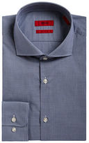 HUGO Cotton Pin-Check Dress Shirt