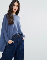Subtle Luxury Cashmere Loose & Easy Sweater