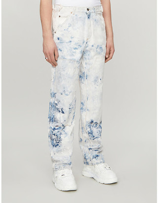 Off-White Regular-fit reconstructed jeans