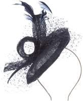 Vixen Millenery Vixen Millinery Loops and feathers on headband