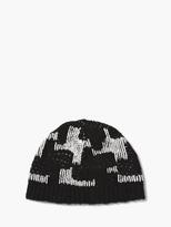 John Varvatos Houndstooth Knit Hat