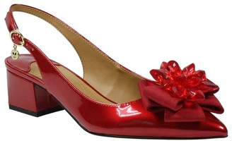 J. Renee Slingback Low Block-Heel Pumps - Faaye