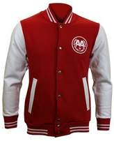 Asking Alexandria Men's Snake AA Baseball Varsity Jacket