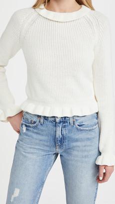 Endless Rose Ruffle Long Sleeve Sweater