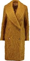 Michael Kors Mohair-blend coat