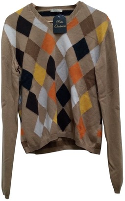 Burberry Beige Cashmere Knitwear for Women