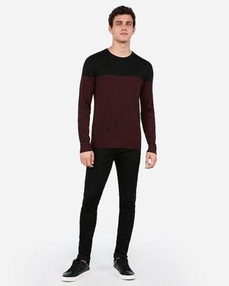 Express Merino Wool-Blend Thermal Regulating Crew Neck Sweater
