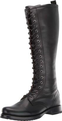 Frye Women's Veronica Combat Tall Boot