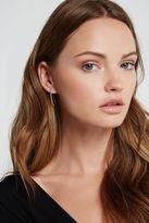 BCBGeneration Rhinestone-Pave Wrap Earrings - Silver