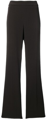 Krizia Pre-Owned 1990's fluid straight trousers