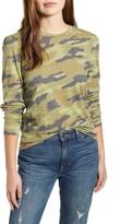 Lucky Brand Camo Puffed Long Sleeve T-Shirt