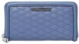 Rebecca Minkoff Ava Quilted Cotton Zip Around Wallet