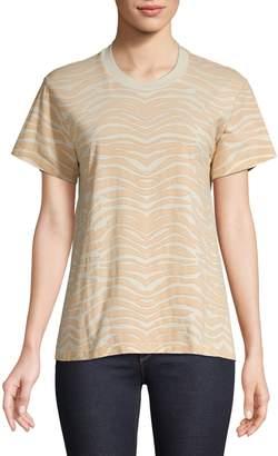 Monogram Zebra Cotton T-Shirt