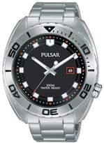 Pulsar Men's Stainless Steel Bracelet Watch