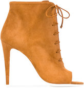 Off-White Carry Over boots - women - Leather/Calf Suede - 37