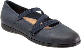 Trotters Leather Slip-On Flats - Della