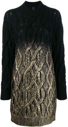 Pinko cable knit dress