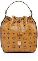 MCM Essential Visetos Original Drawstring Handbag