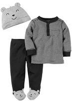 Carter's Baby Boy 3-pc. Henley & Pants Set