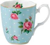 Royal Albert Vintage Mug - Polka Blue