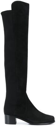 Stuart Weitzman Suede Thigh High Boots
