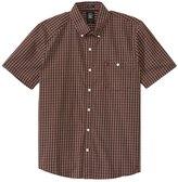 Volcom Men's Everett Mini Check S/S Shirt 8137337